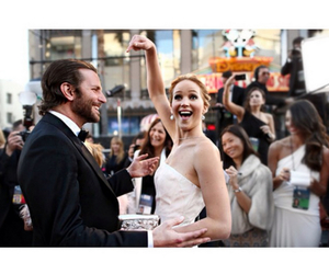 Jennifer Lawrence and bradley cooper image
