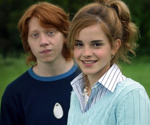hermione granger and ronald weasley image