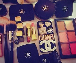 chanel, make up, and mac image