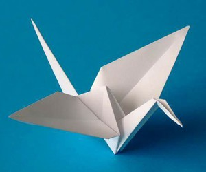 japan, origami, and papercrane image