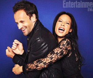 elementary, lucy liu, and smile image