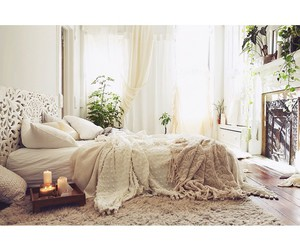 bedroom, bed, and interior design image