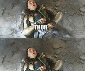 OMG, thor, and wtf image