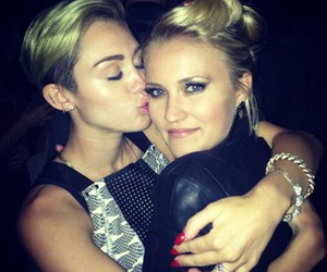 miley cyrus, emily osment, and miley image