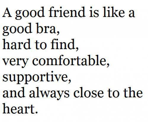 bra, friends, and heart image