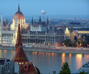 budapest, hungary, and city image