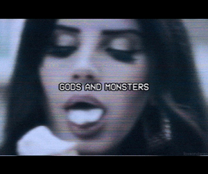 grunge, monsters, and lana del rey image
