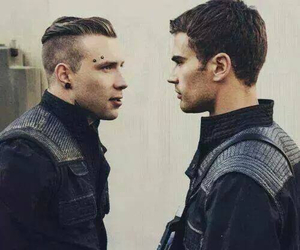 divergent, insurgent, and theo james image