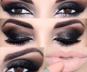 lips, smoky eyes, and makeup image