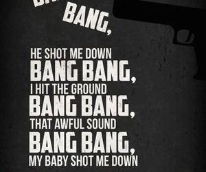 bang bang, fake, and Lyrics image