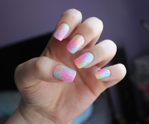nails, tumblr, and nail art image