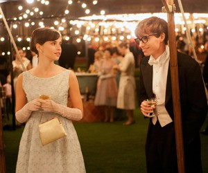 the theory of everything, eddie redmayne, and Felicity Jones image