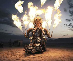 amazing, flammes, and burn image