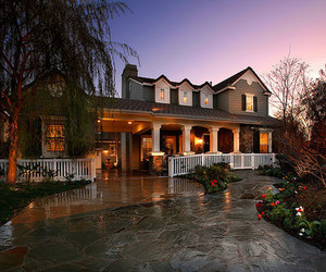 house, luxury, and lights image
