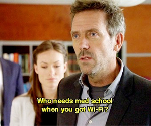 dr house, house, and quote image