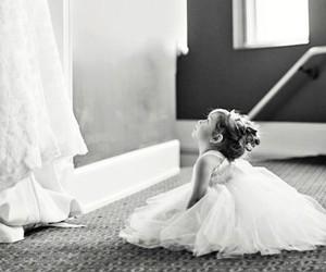 wedding, dress, and baby image