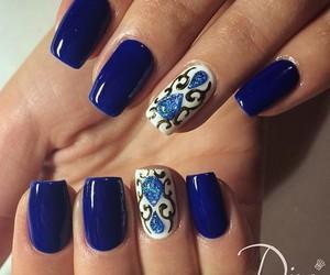 glam, ногти, and manicure image