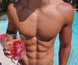 abs, nice body, and theo image