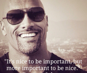 quote, nice, and the rock image