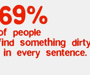 dirty, funny, and percent image
