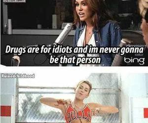 miley cyrus, drugs, and miley image