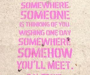 make a wish, someone, and somewhere image