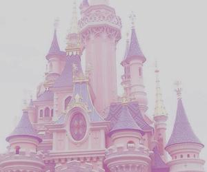 disney, castle, and pastel image