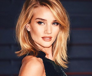 model, rosie huntington-whiteley, and hair image