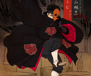 obito, akatsuki, and naruto image
