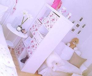 girly, pretty, and room image