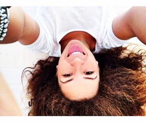 girl, gym, and hair image