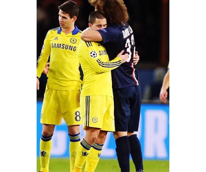 david luiz and eden hazard image