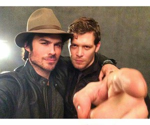 iansomerhalder and josephmorgan image