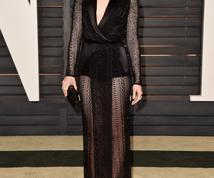 lily collins, dress, and oscars image