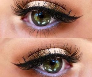 beatiful, make up, and eyes image
