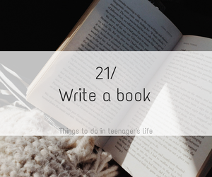 life, book, and teenager image