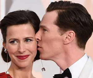 benedict cumberbatch and sophie hunter image