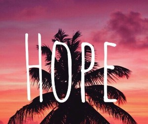 hope, wallpaper, and beach image