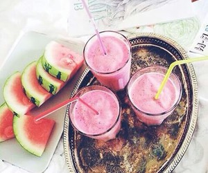 fit, watermelon, and food image