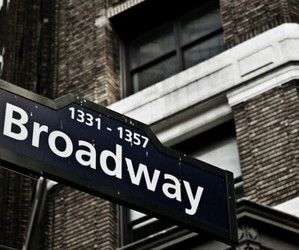 broadway, new york, and city image