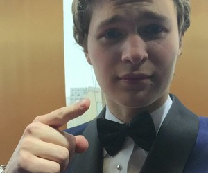 ansel elgort and oscars image