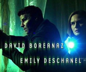 david boreanaz, seeley booth, and emily deschanel image