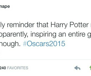 harry potter, movies, and oscar image