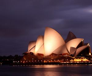 australia, dusk, and night image