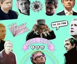 bbc, watson, and Martin Freeman image