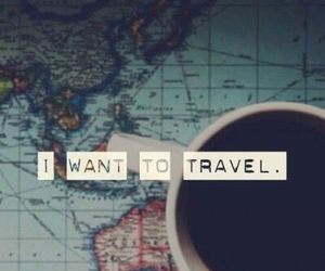 travel, world, and coffee image