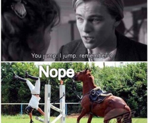 horse, titanic, and funny image