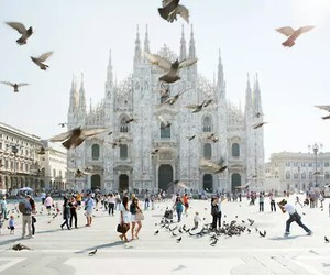 milan, italy, and travel image