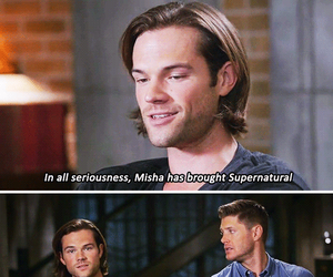 supernatural, jared padalecki, and castiel image