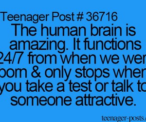 brain, test, and teenager post image